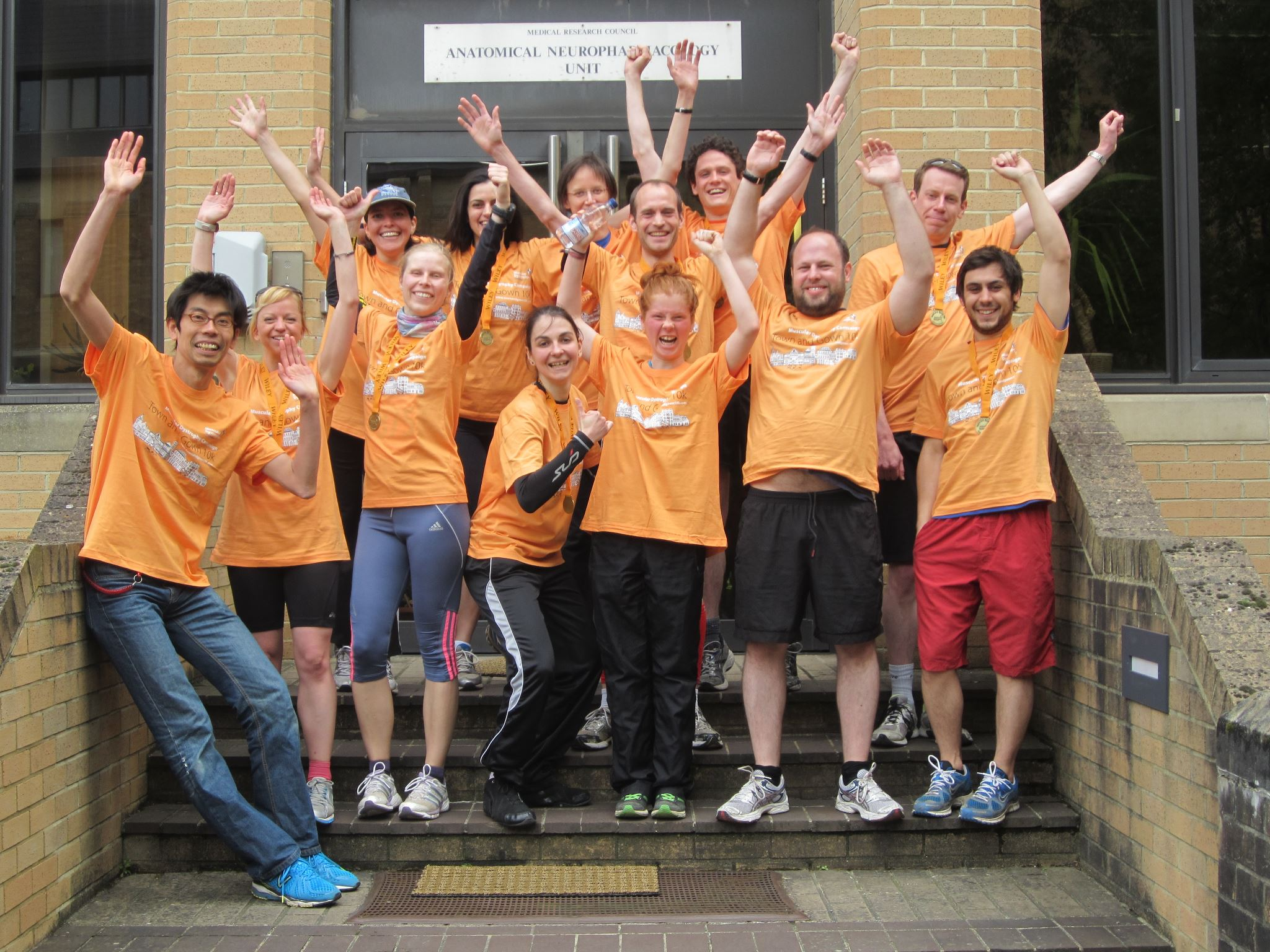 Town and Gown 10 km run for charity | Anatomical Neuropharmacology Unit